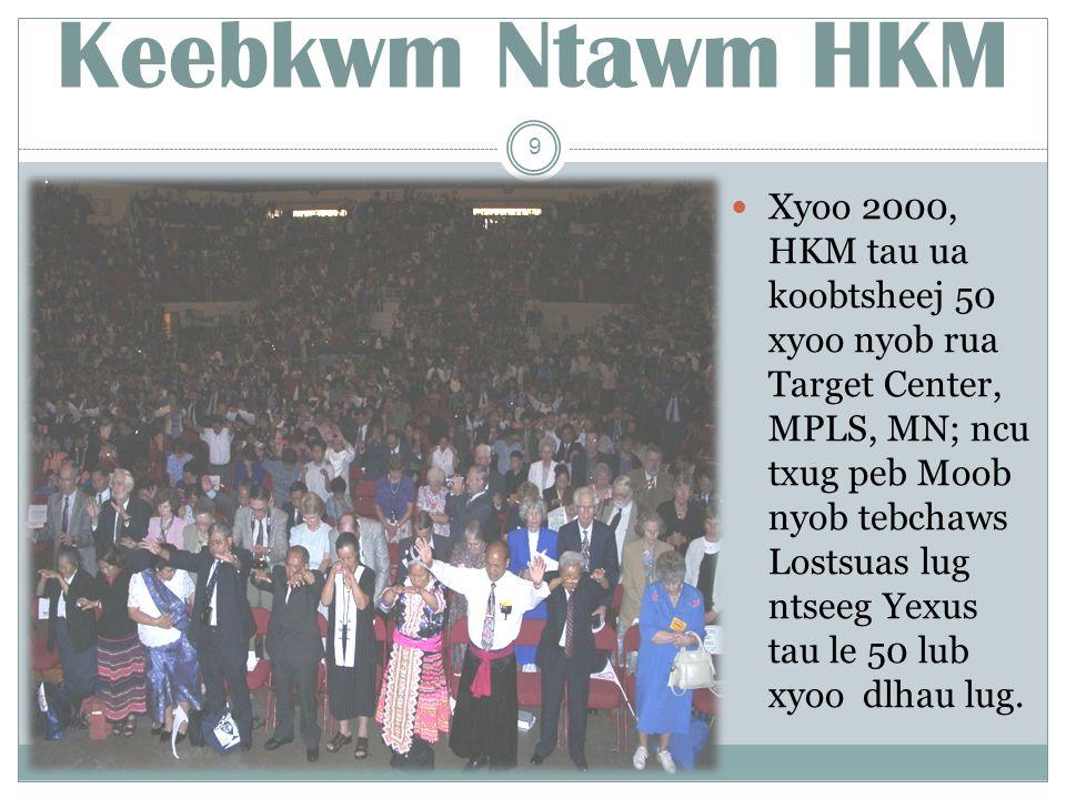 Hmong District Pastors Cov xwbfwb taagnrho nyob rua huv HKM muaj txug le 130 leej.
