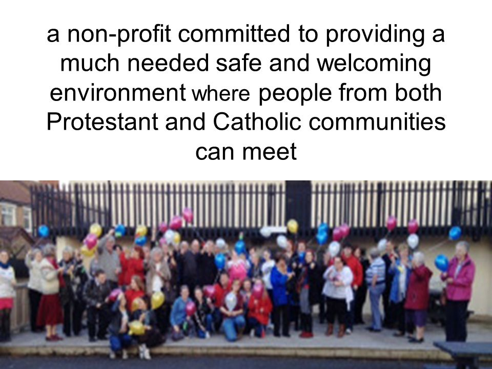 In Belfast, Northern Ireland, UMW supports Forthspring Intercommunity Group,