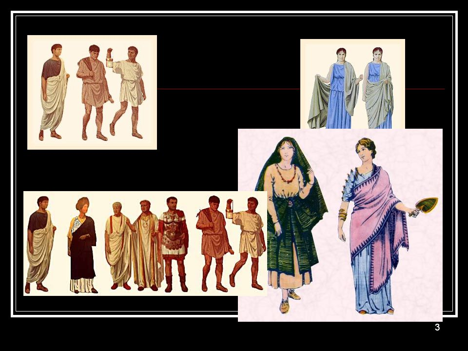 Roman women also wore tunica in much the same fashion as the men.