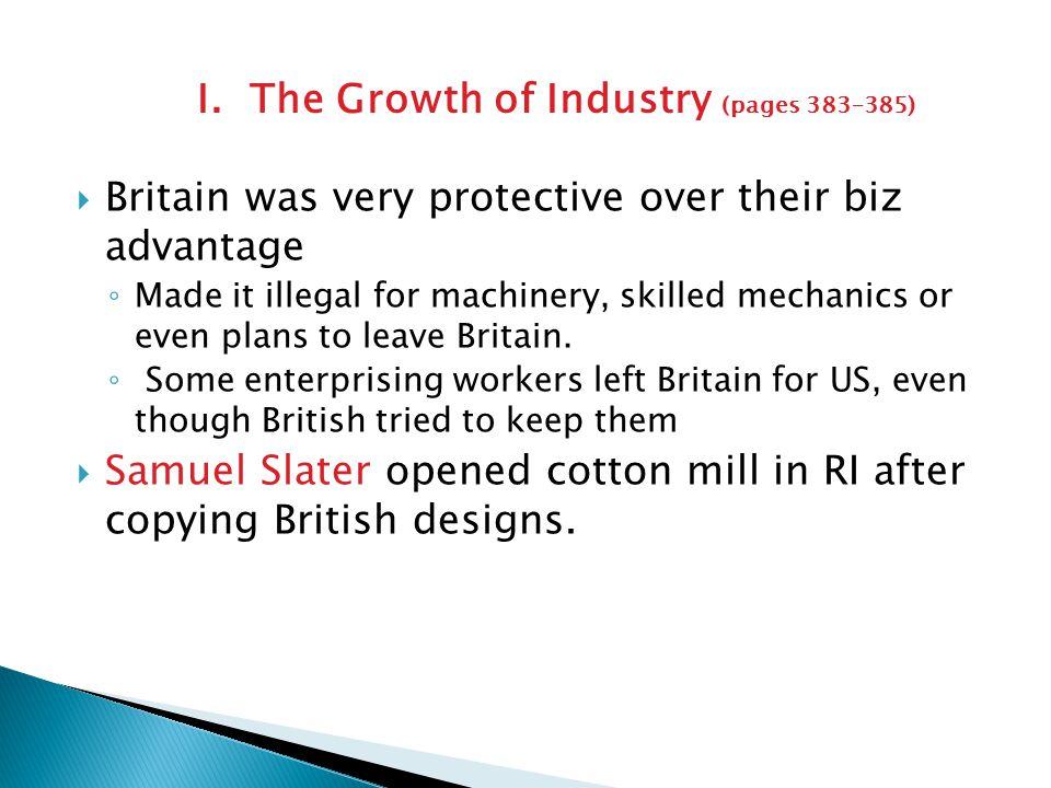  Industrial Revolution began to change economic roles of men & women (esp.