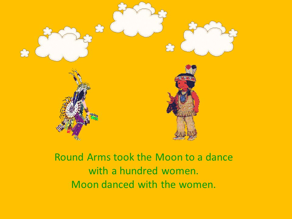 Round Arms took Moon to a rabbit hole. The rabbits need the moon to get food safely.