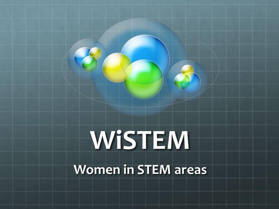WiSTEM Women in STEM areas
