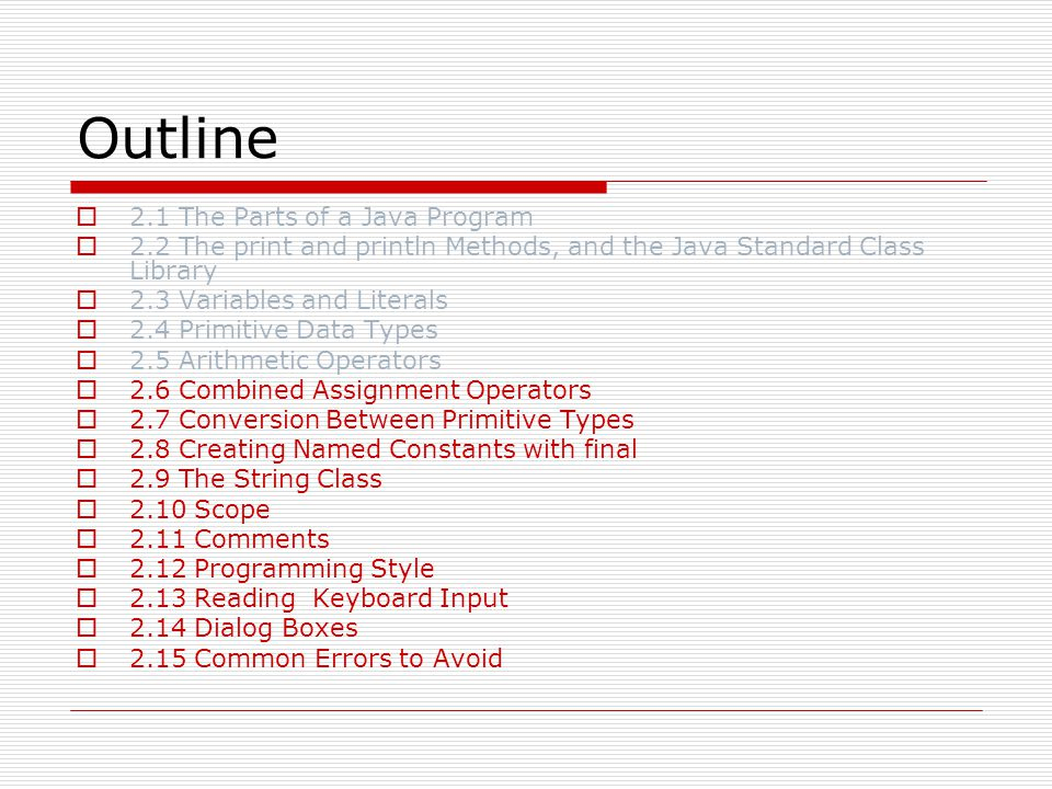 Using the import Statement  The JOptionPane class is not automatically available to your Java programs.