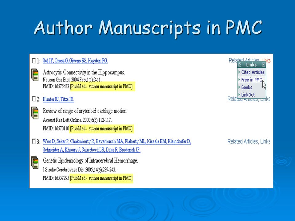 Author Manuscripts in PMC