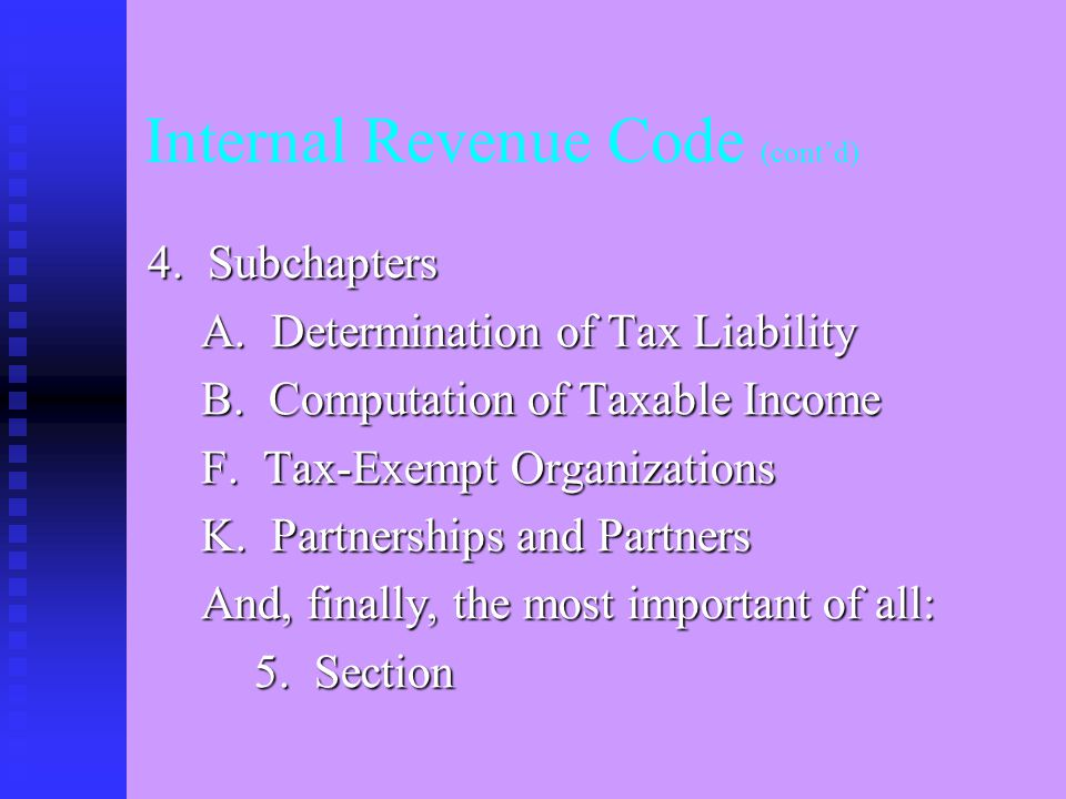 3. Chapters 1. Normal Taxes and Surtaxes 2. Self-Employment Tax 11.