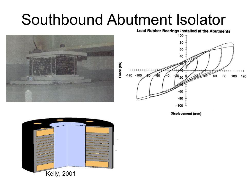 Southbound Abutment Isolator Kelly, 2001