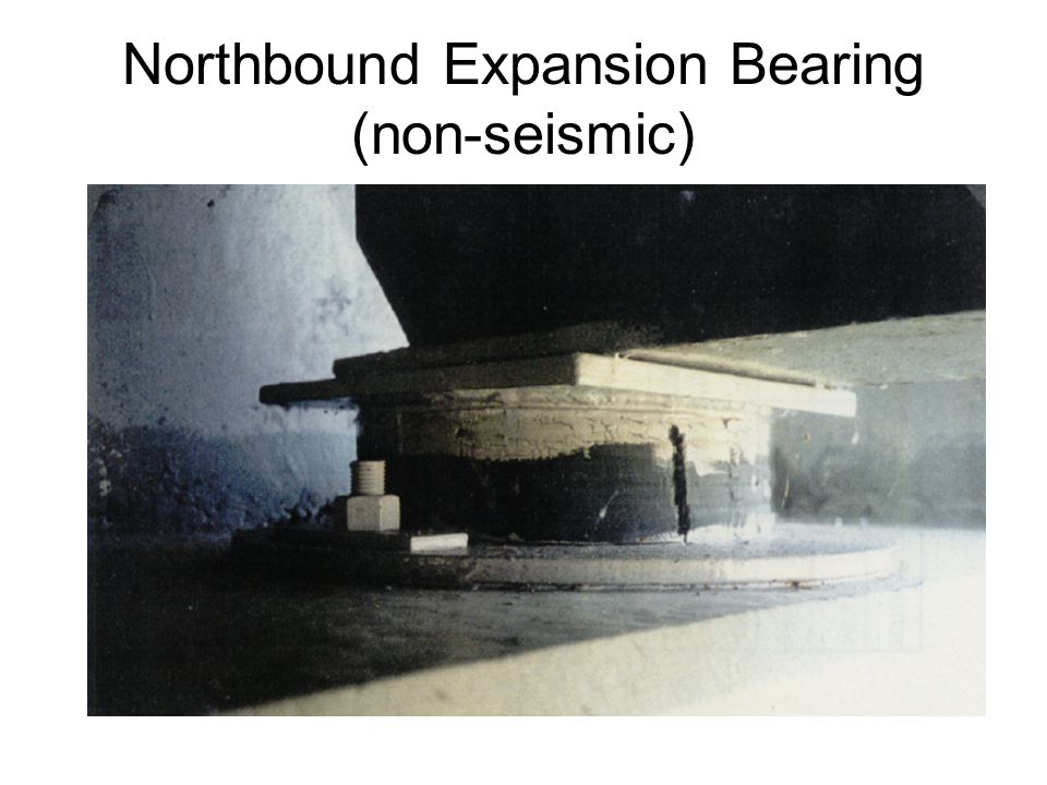 Northbound Expansion Bearing (non-seismic)
