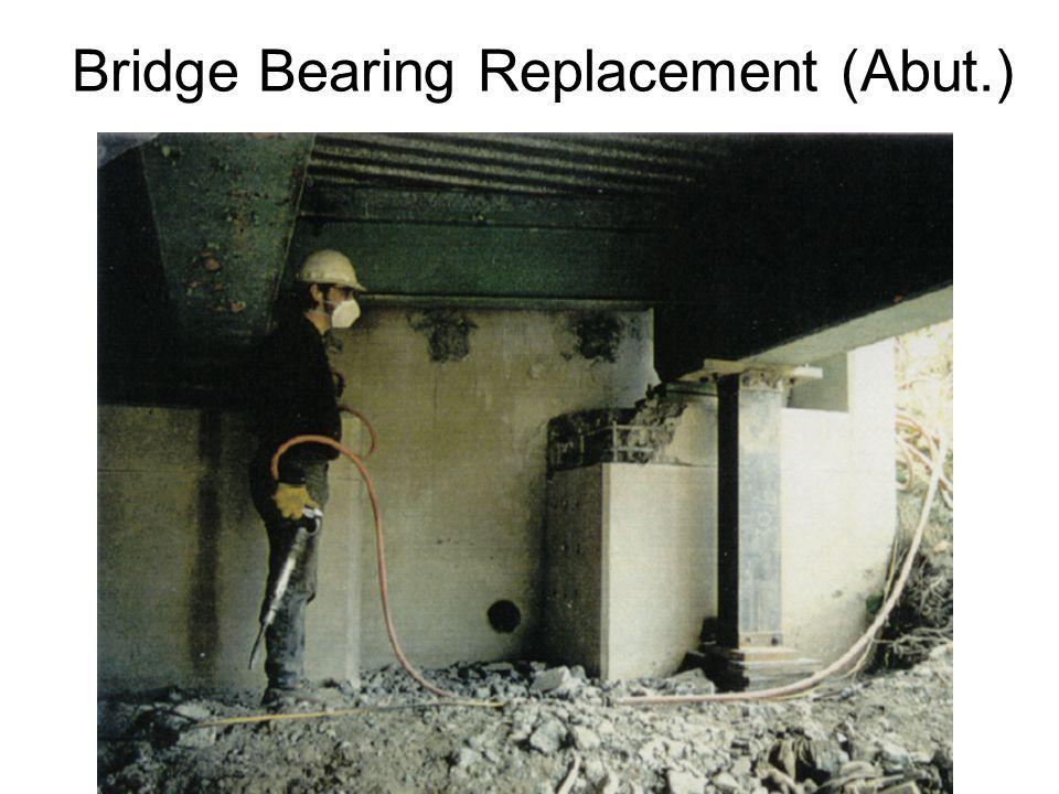 Bridge Bearing Replacement (Abut.)