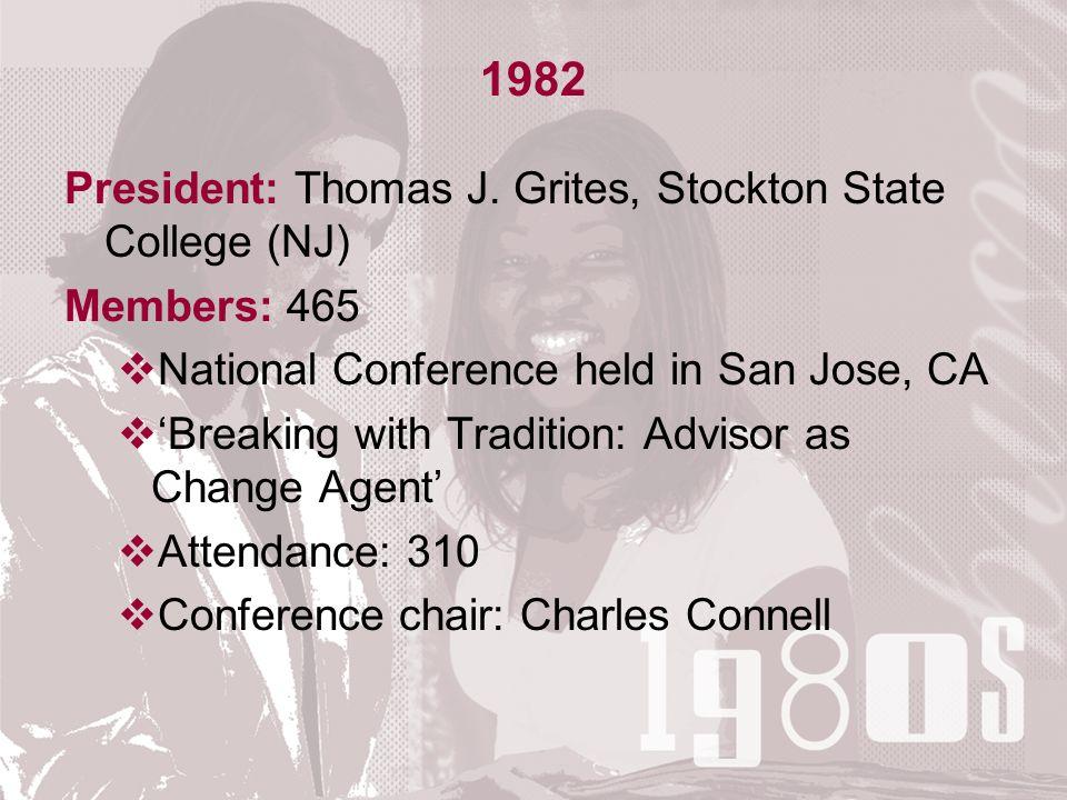 1982 President: Thomas J.