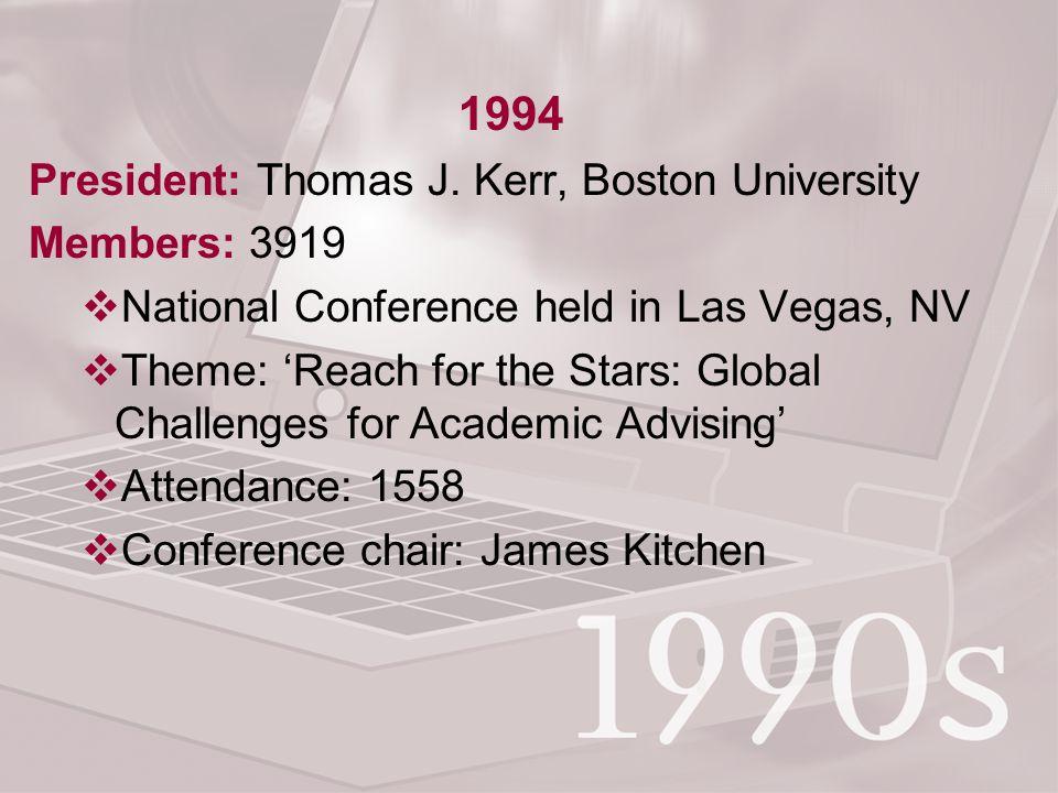 1994 President: Thomas J.