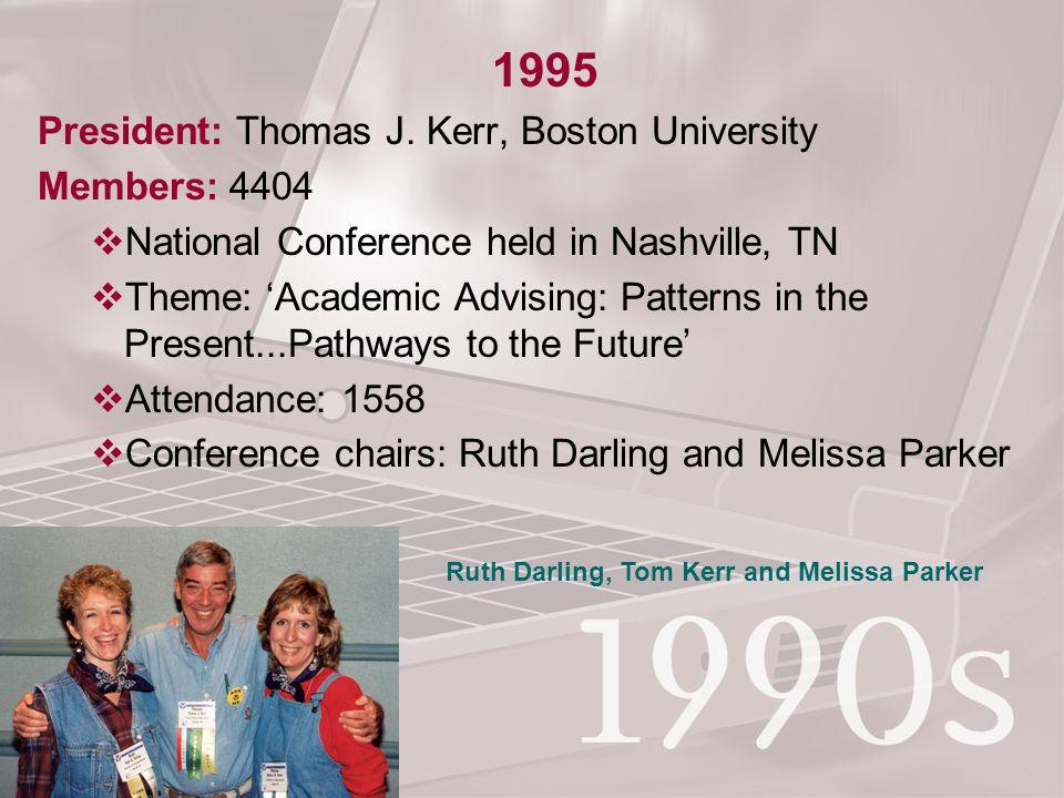 1995 President: Thomas J.
