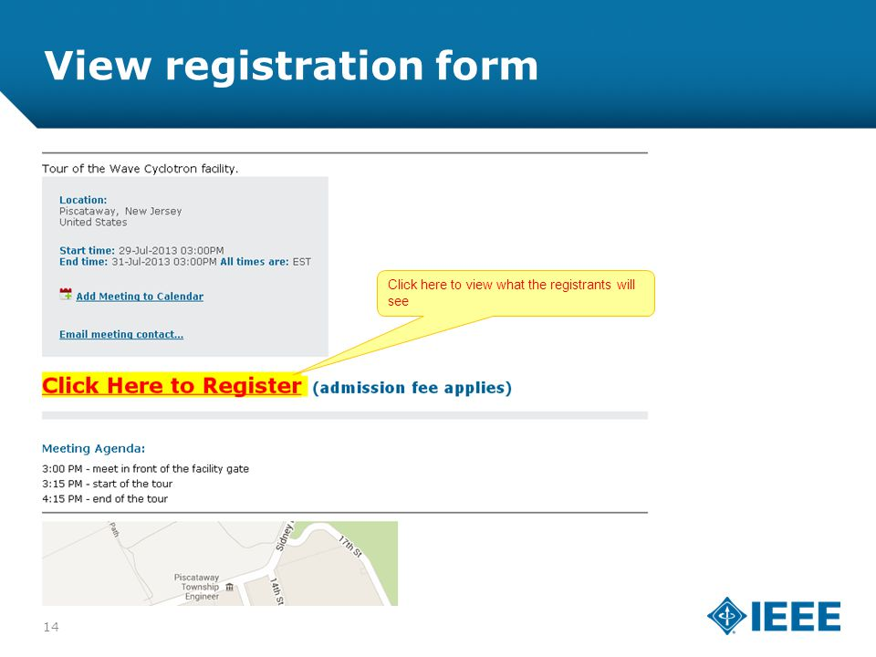 12-CRS-0106 REVISED 8 FEB 2013 View registration form Click here to view what the registrants will see 14