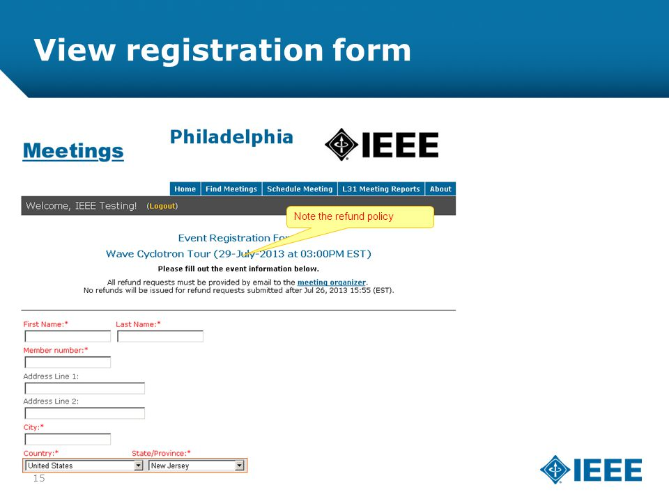 12-CRS-0106 REVISED 8 FEB 2013 View registration form Note the refund policy 15