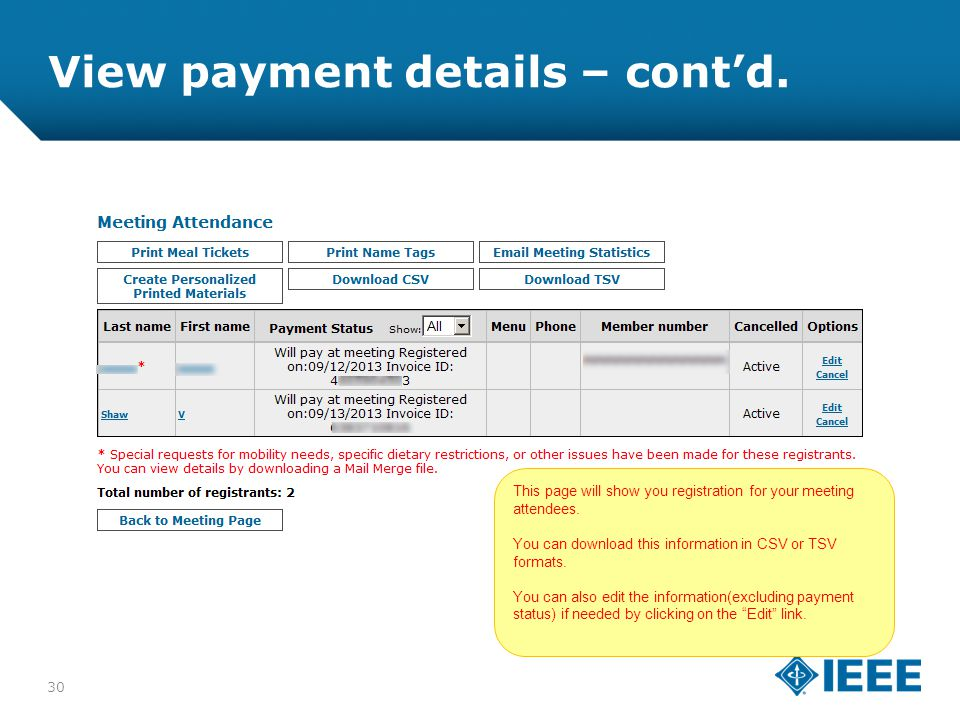 12-CRS-0106 REVISED 8 FEB 2013 View payment details – cont'd.