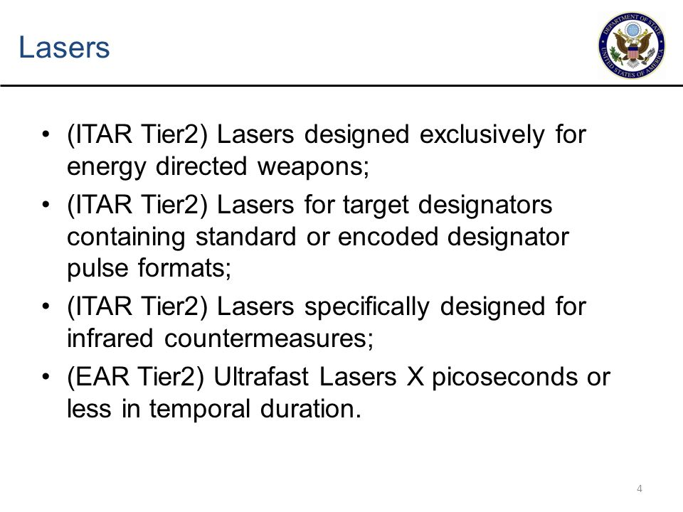 5 Thermal Imaging Systems Methodology of Conclusions –Some focal plane arrays have become widely available –Just having a focal plane array does not make a defense article –CJs issued confirming dual use control for multiple items containing a USML focal plane array –Wide Proliferation into US and foreign commercial products and applications for thermal imaging systems –Automotive - Online processing –Manufacturing - Security and Surveillance –Gas detection –Utilities Maintenance