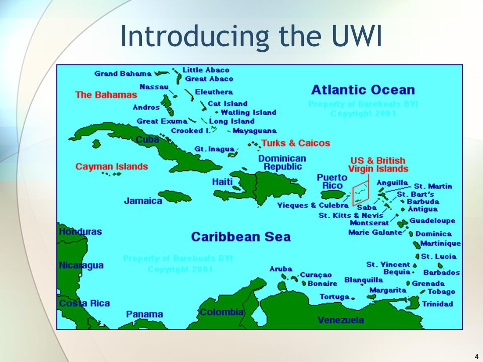4 Introducing the UWI