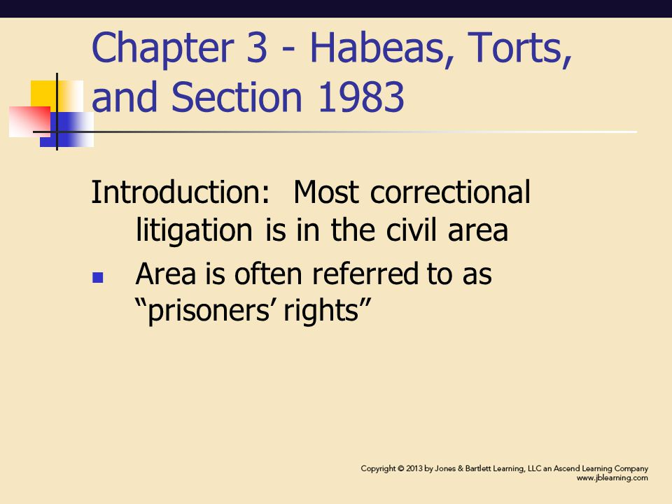 Torts: cont'd Two types of torts Intentional torts – person intends to do what the law has said to be wrong Negligent torts – person was careless, failed to exercise the degree of care required by the law in doing the act(s) that are otherwise permissible