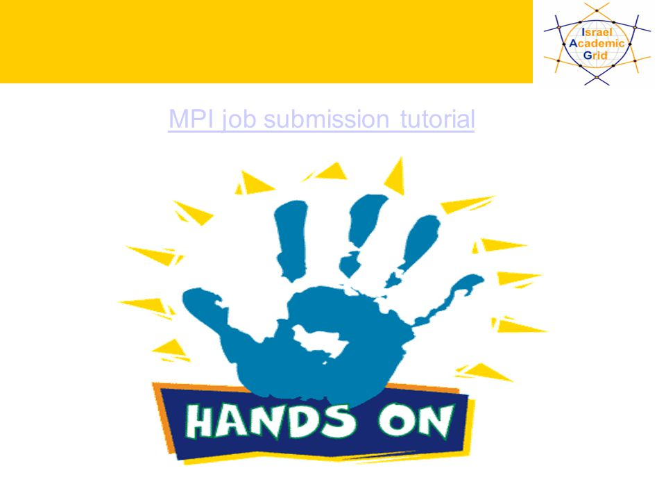 IV Workshop INFN Grid, Bari, 25-27.10.2004 - 36 MPI job submission tutorial