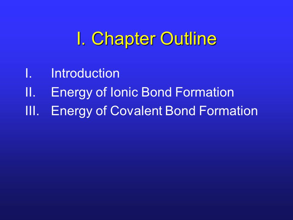 III. Formation of H 2