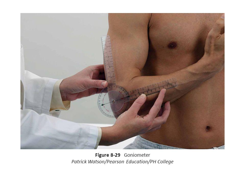 Figure 8-29 Goniometer Patrick Watson/Pearson Education/PH College