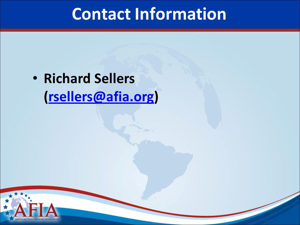Richard Sellers Contact Information