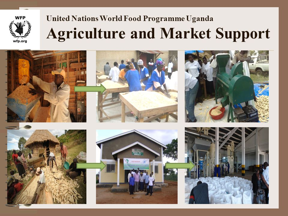 United Nations World Food Programme Uganda Agriculture and Market Support