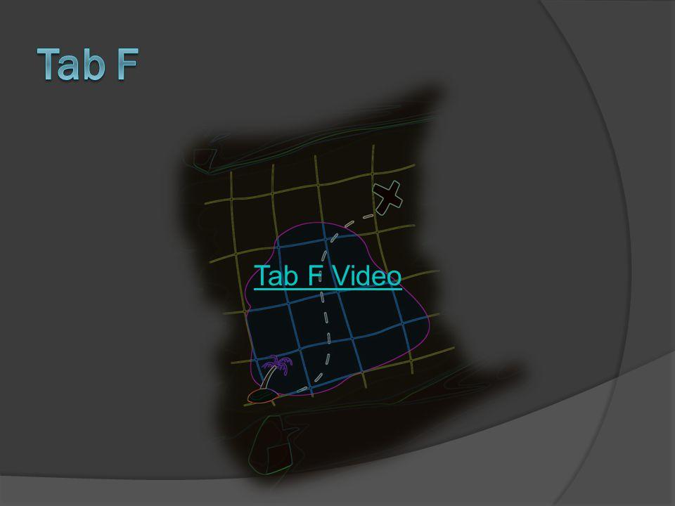 Tab F Video