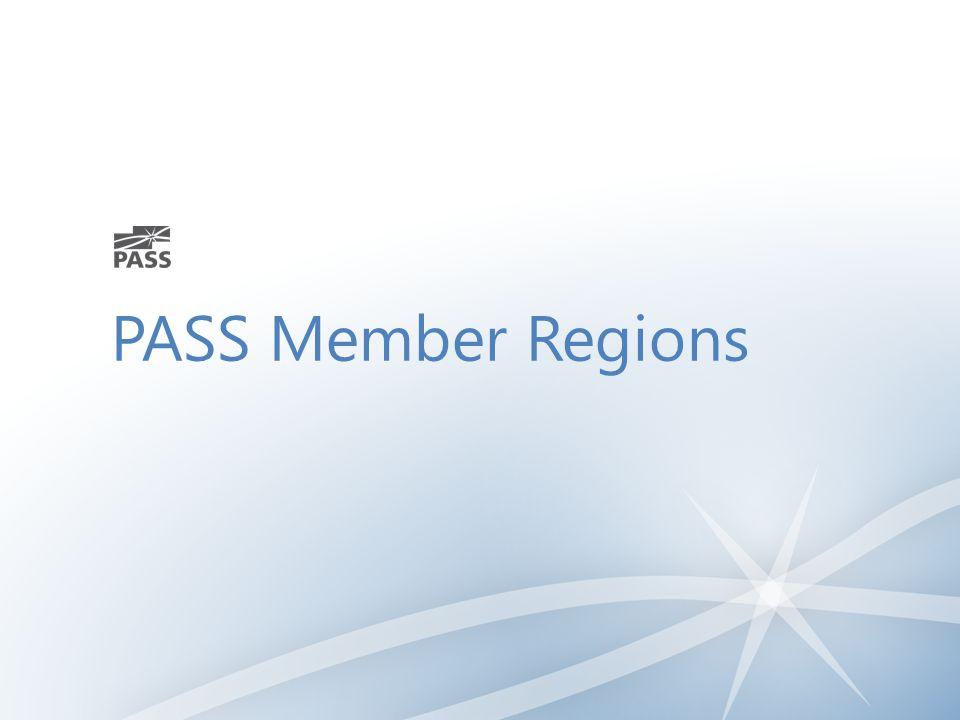 PASS Member Regions