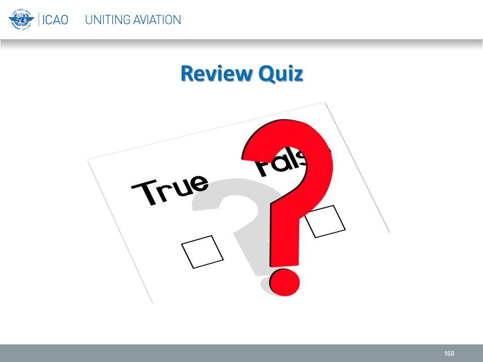 Review Quiz 168