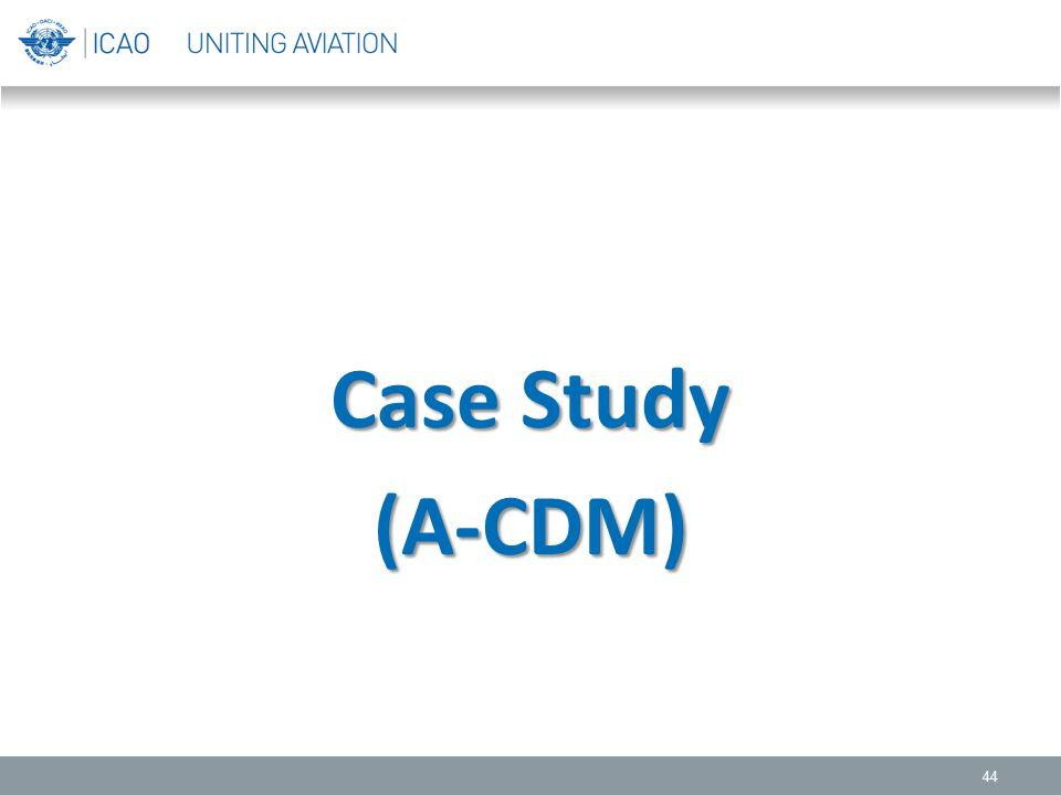 44 Case Study (A-CDM)