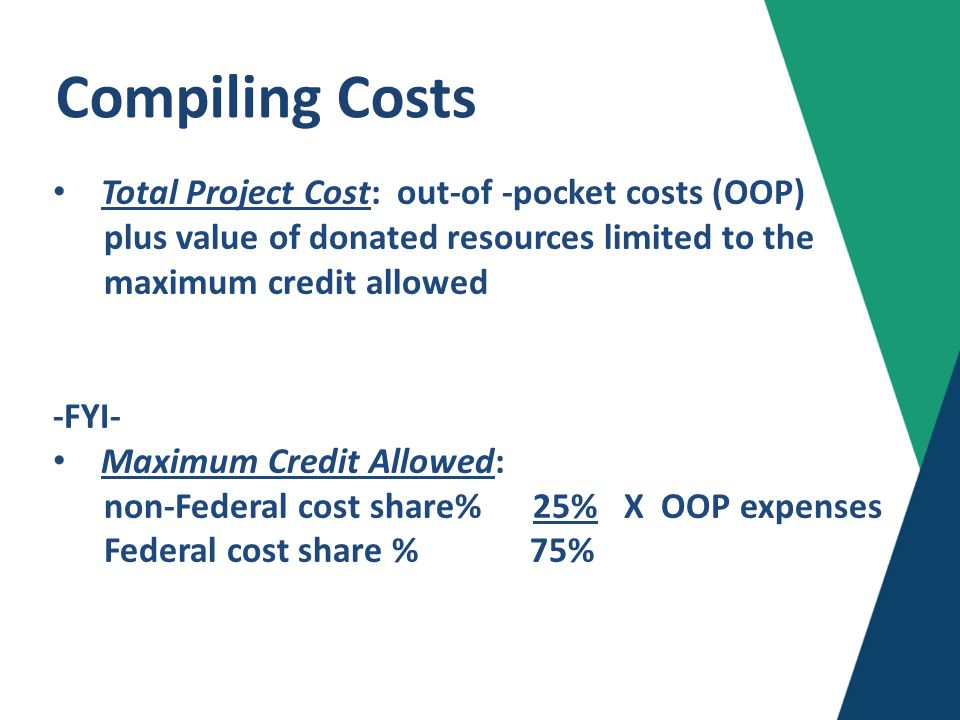 Compiling Costs - cont'd.