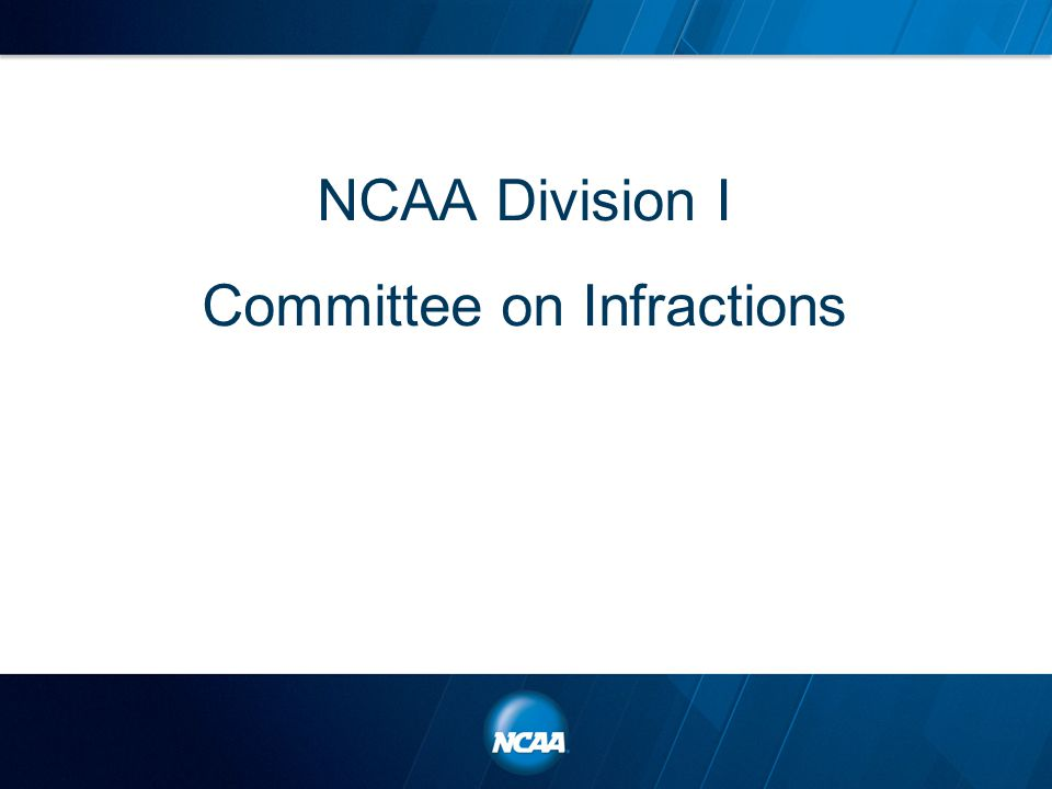 NCAA Division I Committee on Infractions