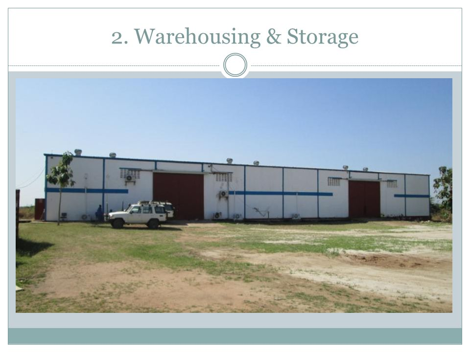 2. Warehousing & Storage