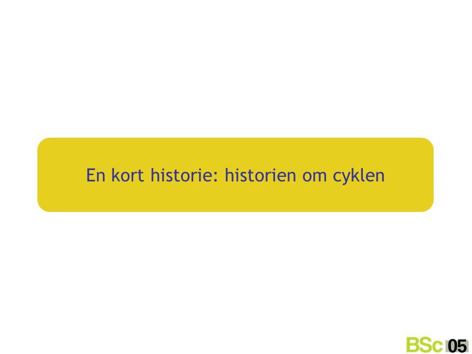 En kort historie: historien om cyklen