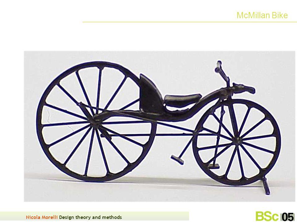 Nicola Morelli Design theory and methods McMillan Bike