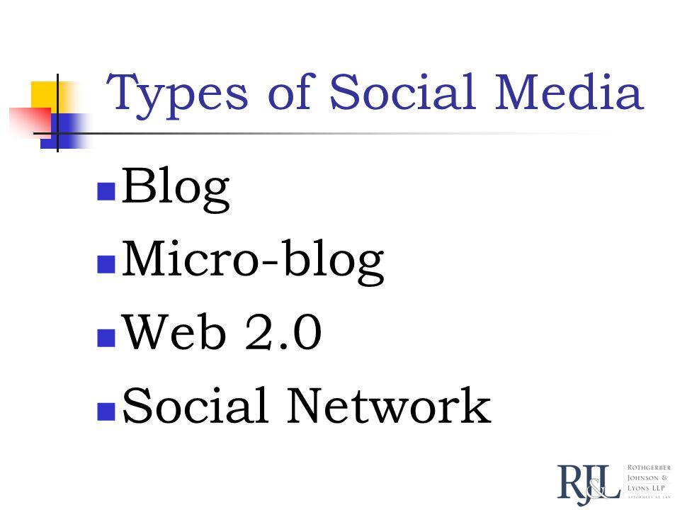 Blog web log Regular entries Reverse-chronological order Example: