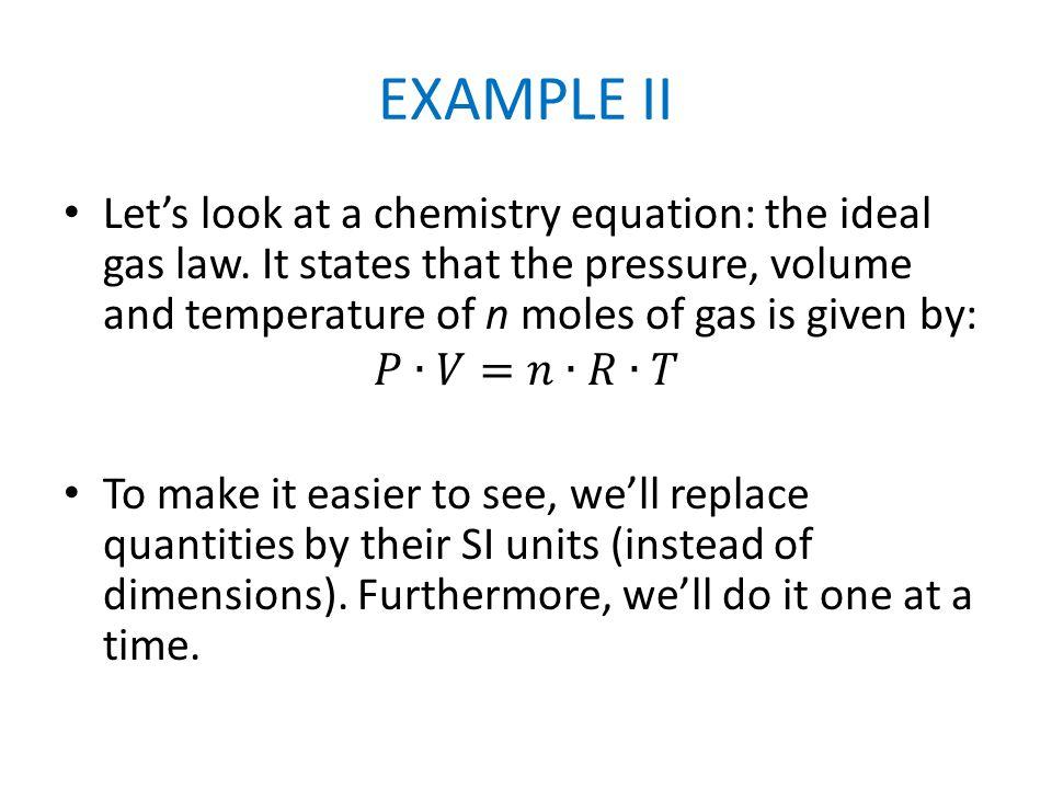 EXAMPLE II