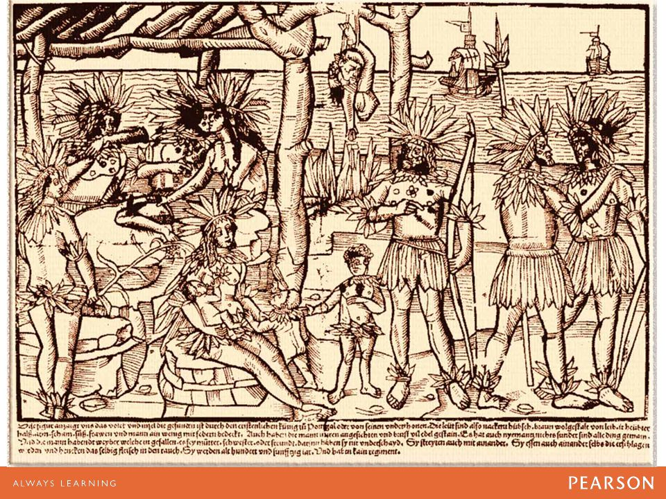 An Early European Image of Native Americans