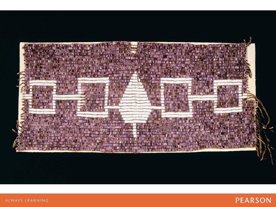 Hiawatha wampum belt of the Haudenosaunee or Iroquois Five Nation Confederacy