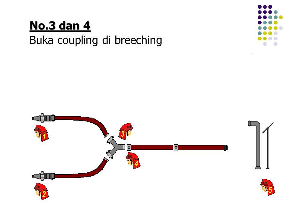 No.3 dan 4 Buka coupling di breeching