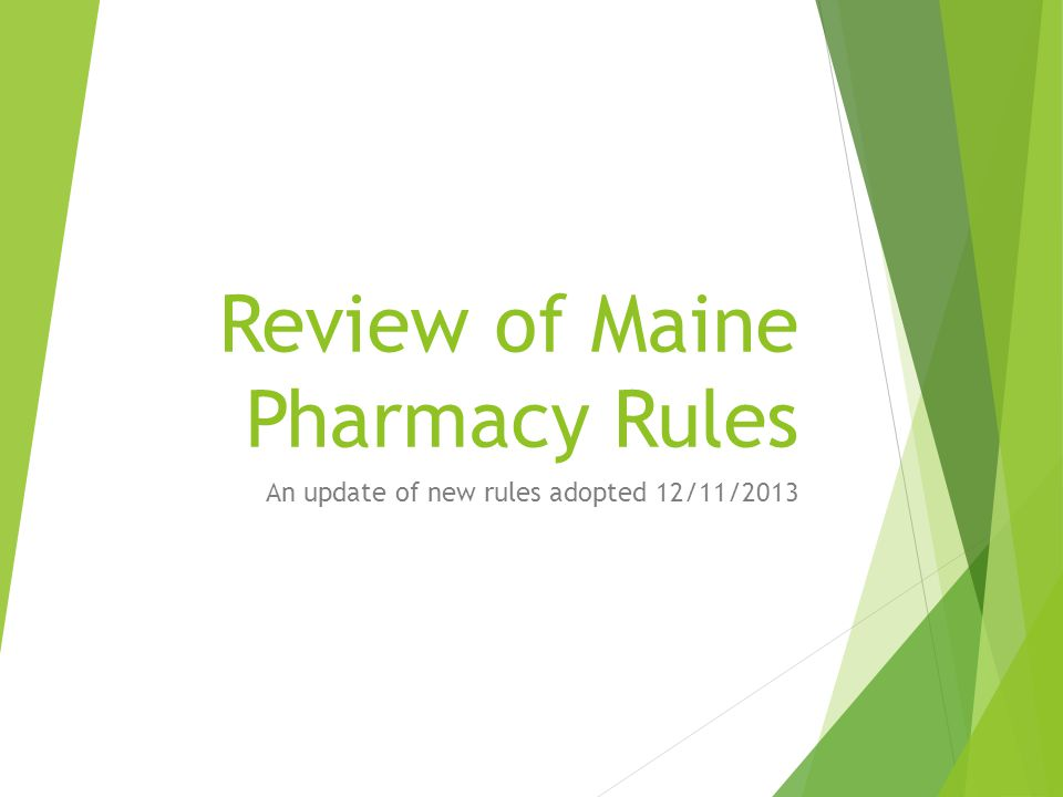 Chapter 38  Licensure of closed shop pharmacies.