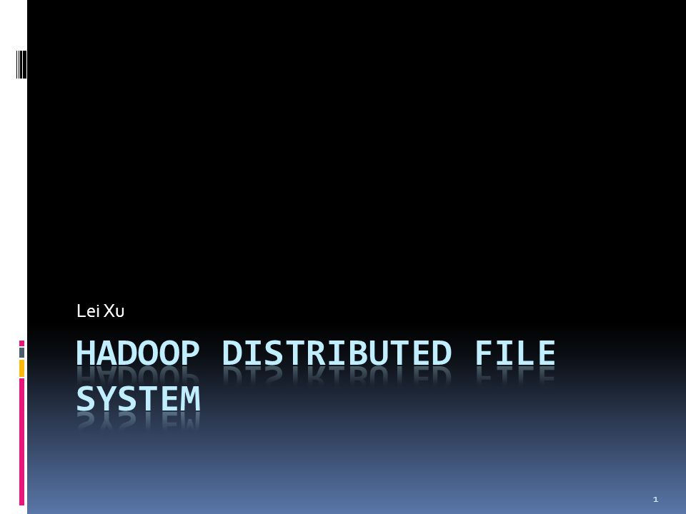 Client  Application-level implementations  Does not provide POSIX API  Hadoop has a FUSE interface  FUSE: Filesystem in Userspace  Has limited functions (e.g, no random write supports)  Query the NameNode for file locations and metadata  Contact corresponding DataNodes for file I/Os 12