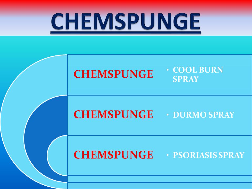CHEMSPUNGE COOL BURN SPRAY DURMO SPRAY PSORIASIS SPRAY