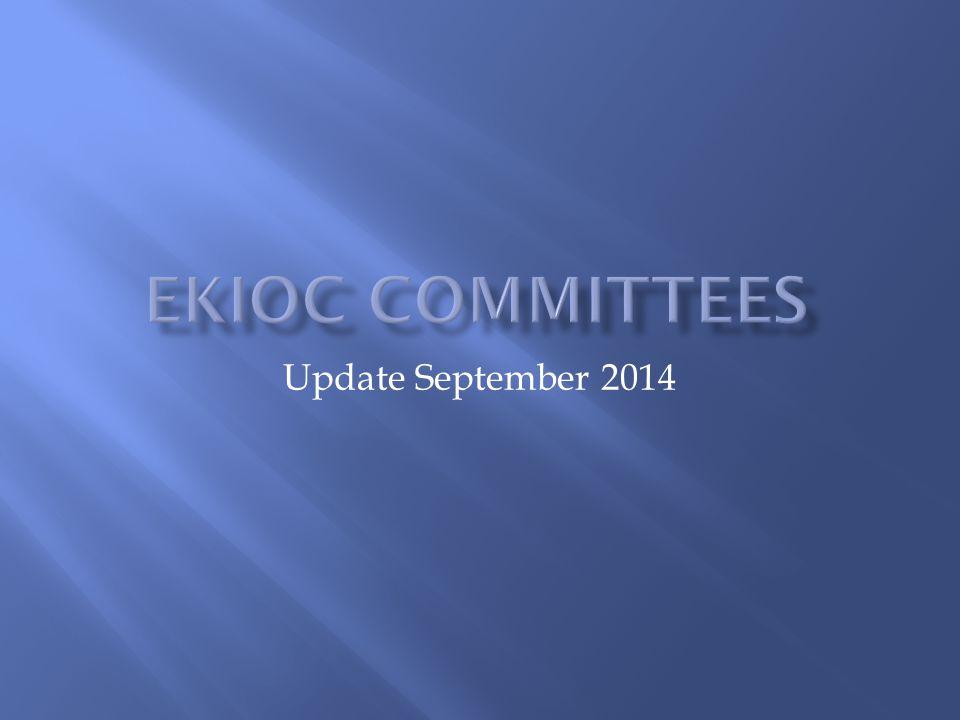 Update September 2014