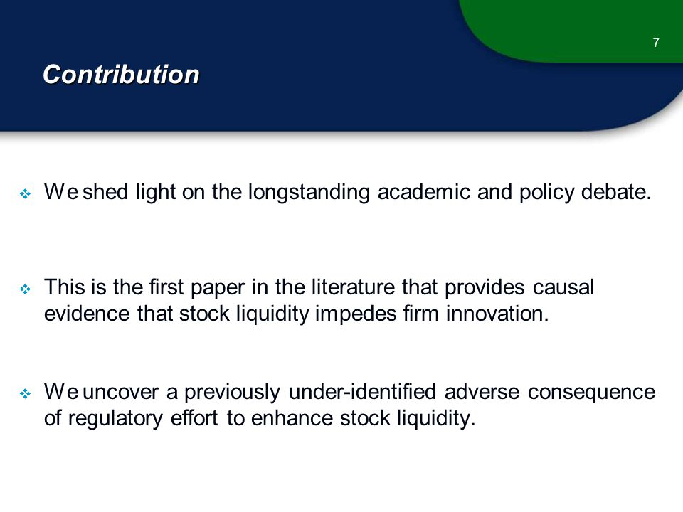 Contribution  We shed light on the longstanding academic and policy debate.