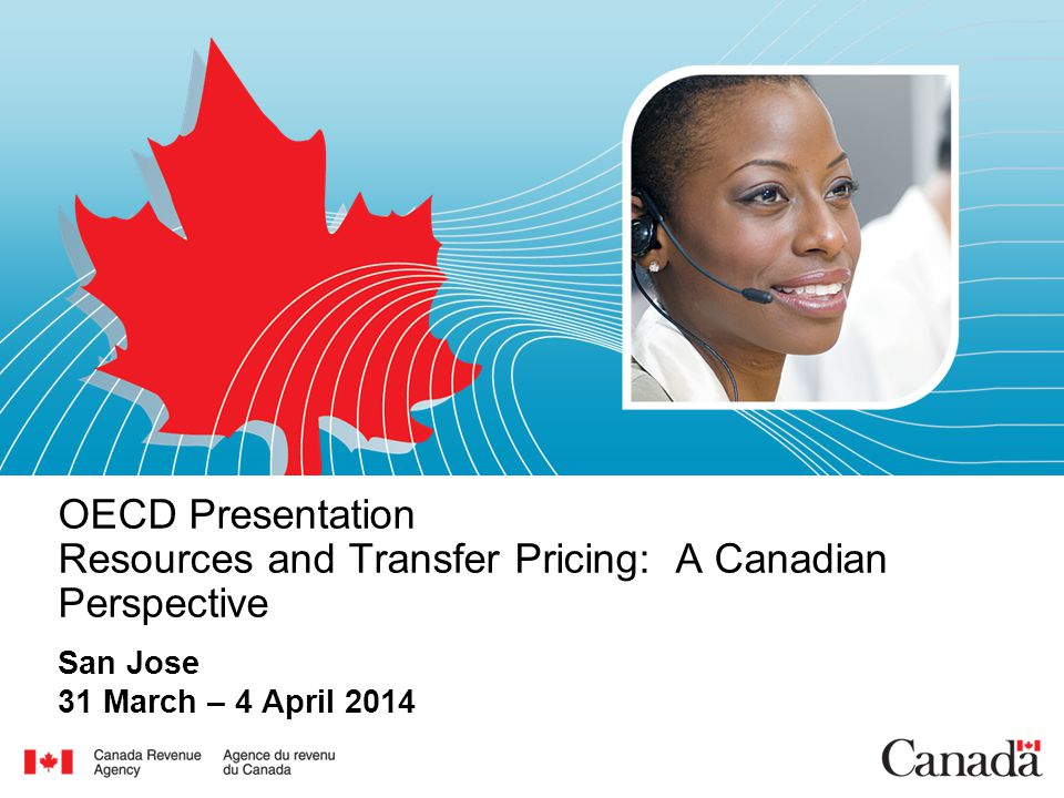 2 Overview  Transfer pricing and resource economics  Audit considerations  The Canadian resource tax environment  Case studies Commodity marketing transactions Business restructures and expansion Intangibles in the mining sector