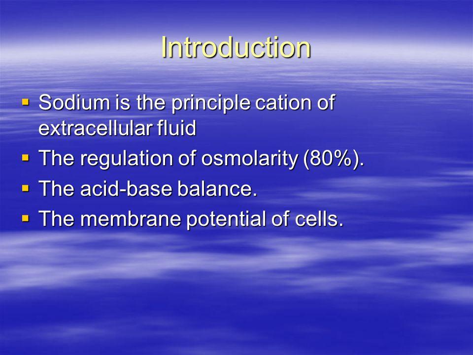 Definition  Serum sodium concentration More than 145 mmol/l  The sodium con..