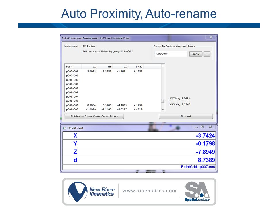 Auto Proximity, Auto-rename