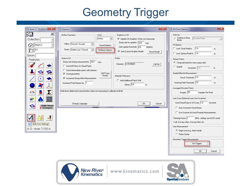 Geometry Trigger