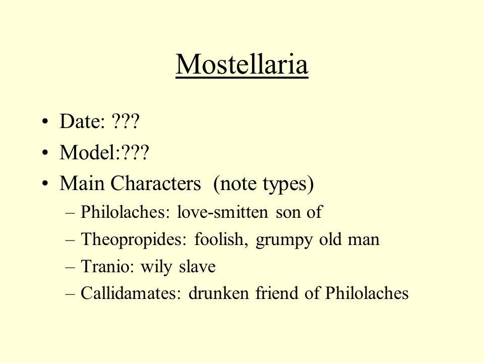Mostellaria Date: . Model: .